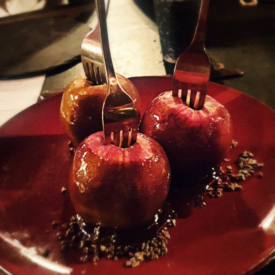 red palace toffee apples