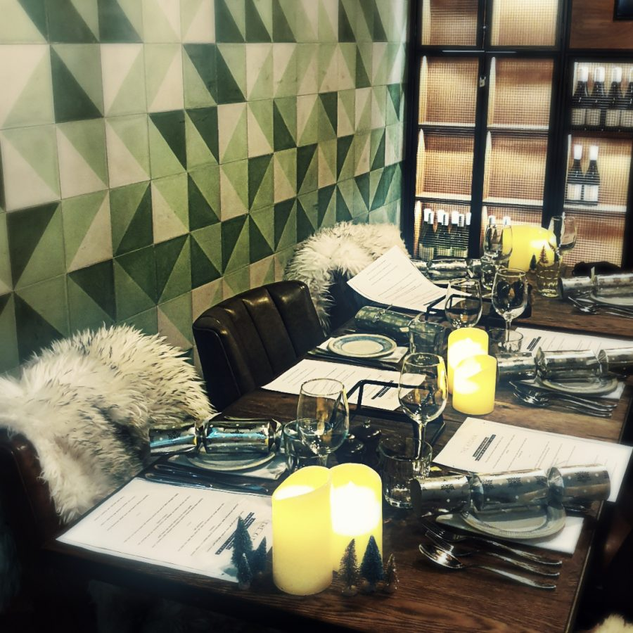 private dining area at the kitchen