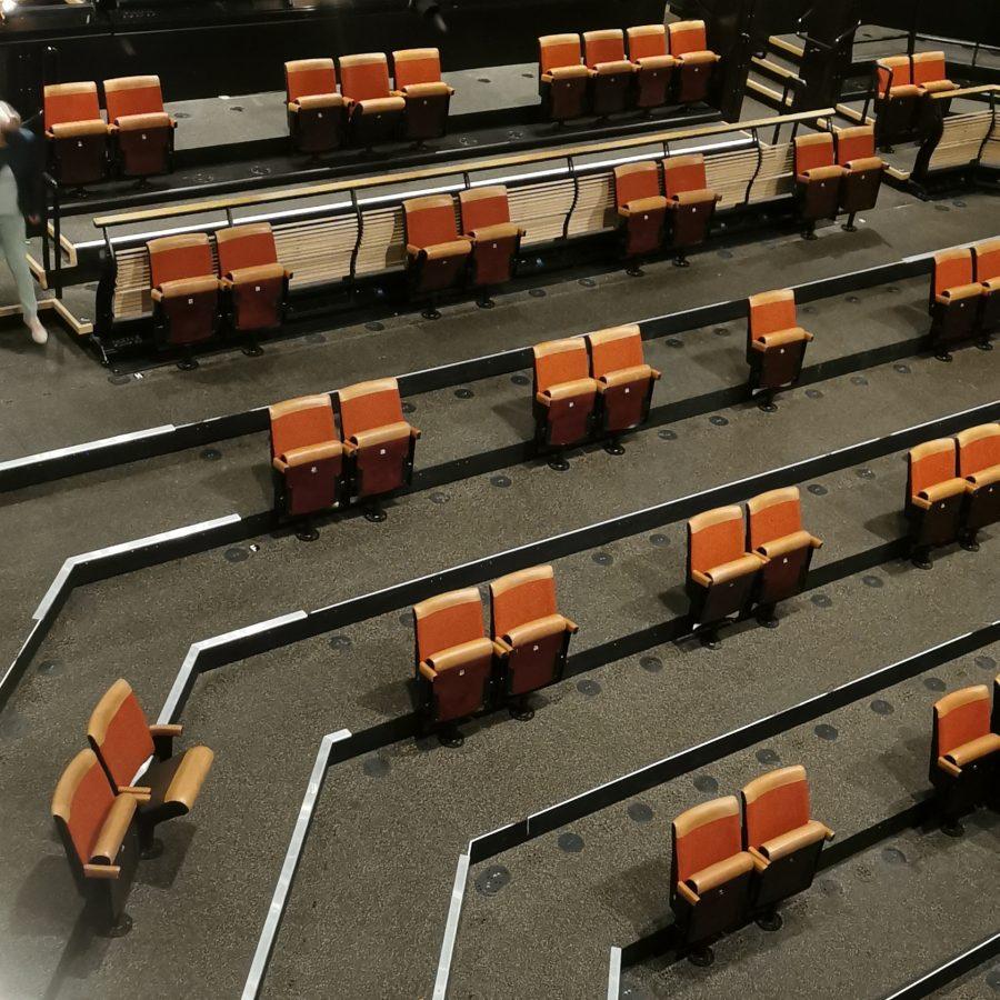bridge theatre auditorium